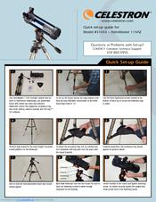 celestron astromaster 114az manuals rh manualslib com Celestron NexStar 114GT Upgrade Accesories Celestron NexStar 114GT 114Mm Reflector Telescope