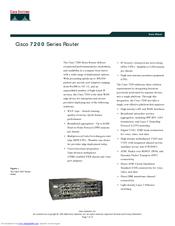 Cisco 7206-VXR NPE-400 Manuals