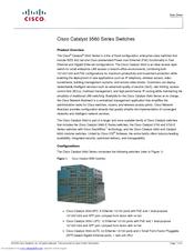 Cisco catalyst 3560x-48t-l switch cisco.