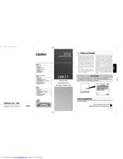 clarion db125 manuals rh manualslib com