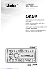 clarion cmd4 manuals rh manualslib com Clarion CMD4 Manual Installation Clarion CMD4 iPod Adapter
