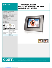 coby dp 767 digital photo frame manuals rh manualslib com