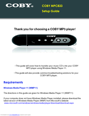 instructions for digital mp3 player