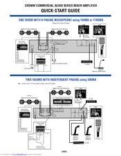 crown 1160ma manuals rh manualslib com Crown Amplifiers DJ Crown 135MA