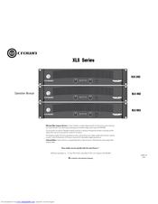 crown xls 602 manuals rh manualslib com Example User Guide User Training