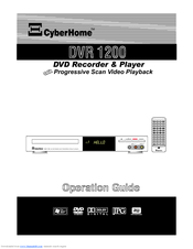 CyberHome DVR 1200 Operation Manual