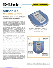 D-link DMP-CD100 Specifications