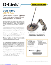 D-link DSB-R100 Specifications