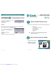 D-link DSB-T100 Quick Install Manual