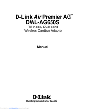 DRIVER FOR D-LINK AIRXPERT DWL-AG650