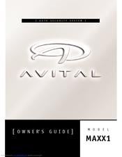 avital maxx 1 manuals rh manualslib com