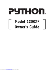 python 1200xp owner s manual pdf download rh manualslib com Vinyl Graphics Installation Guide RV Toilets Installation Diagrams