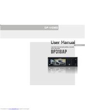 dp audio video dp318ap manuals rh manualslib com Instruction Manual Example Owner's Manual