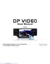 dp audio video dp434 user manual pdf download rh manualslib com Manuals in PDF Owner's Manual