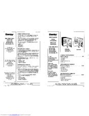Danby Dcr412bls Manuals