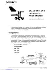 davis instruments anemometer manuals rh manualslib com Weather Station Instruments Weather Instruments