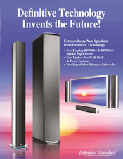 Definitive Technology SuperTower BP7000SC Reference