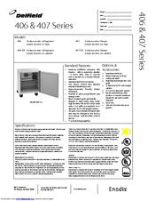 delfield 406 ca manuals. Black Bedroom Furniture Sets. Home Design Ideas