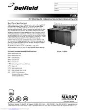 delfield f13bc44 manuals. Black Bedroom Furniture Sets. Home Design Ideas