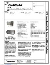delfield 18660 ptb manuals. Black Bedroom Furniture Sets. Home Design Ideas
