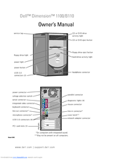 Dell INSPIRON Inspiron 1100 Owner's Manual