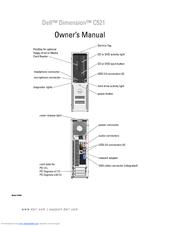 Dell Dimension C521 Manuals