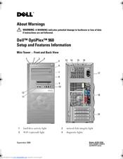 dell optiplex 960 manuals rh manualslib com dell optiplex 960 motherboard manual dell optiplex 960 troubleshooting lights