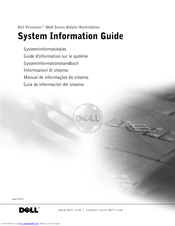 Dell Precision M60 Series System Information Manual