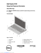 vostro v131 manual how to and user guide instructions u2022 rh taxibermuda co Dell Vostro V1.3.1 Specs Dell Ultralight Laptop