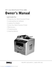 dell 1600 mono laser manuals rh manualslib com Dell 1355Cn Driver Dell 1130 Printer