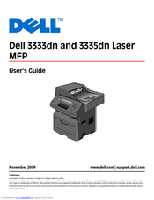 DELL 3335DN USER MANUAL Pdf Download