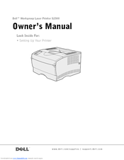 DELL S2500 OWNER'S MANUAL Pdf Download