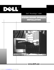 Dell POWEREDGE 4300 Upgrade Installation Manual
