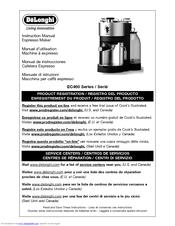 Delonghi EC460 Manuals