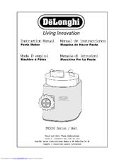 popeil pasta maker manual pdf