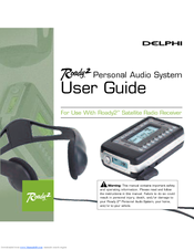 delphi roady 2 sa10109 11p1 user manual pdf download rh manualslib com Delphi Roady XT Delphi Roady XT