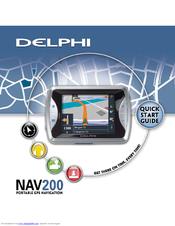 delphi nav200 portable gps navigation system manuals rh manualslib com