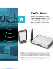 Delphi Sa10117 Repeater Antenna Satellite Radio Manuals Manualslib