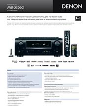 denon avr 2309ci manuals rh manualslib com denon avr 2309 manual Denon AVR- 1910 Remote Control