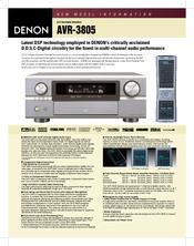 denon avr 3805 manuals rh manualslib com denon avr 2805 manual pdf denon avr-3805 owners manual