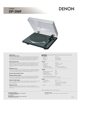 denon dp 29f turntable manual