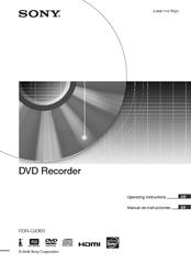 sony rdr gx360 manuals rh manualslib com Sony RDR GX360 DVD Recorder sony rdr-gx360 dvd player recorder manual