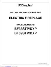 dimplex bf33dxp manuals