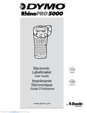 dymo rhinopro 5000 manuals rh manualslib com Esselte Union MO Esselte Film