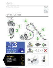 dyson dc23 turbinehead manuals rh manualslib com dyson dc33 manual troubleshooting dyson dc33 manual