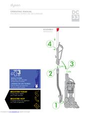 dyson dc33 manuals rh manualslib com dyson dc33 user guide Walmart Dyson DC33