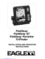 Eagle FISHEASY ST - Installation And Operation Instructions Manual