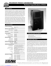 eaw kf853 manuals rh manualslib com