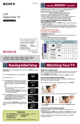 sony kdl 40ex500 bravia ex series lcd television manuals rh manualslib com sony bravia kdl 40ex400 manual sony bravia kdl40ex500 user manual