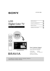 sony bravia xbr 55hx929 manuals rh manualslib com Sony M 80 Manual DPX300U Manual